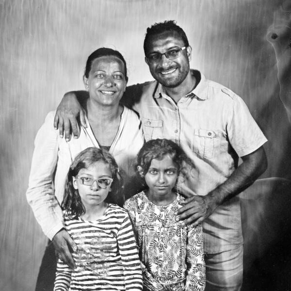 portrait de famille collodion