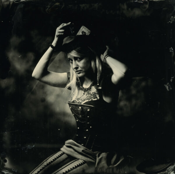 portrait cosplayeur collodion humide
